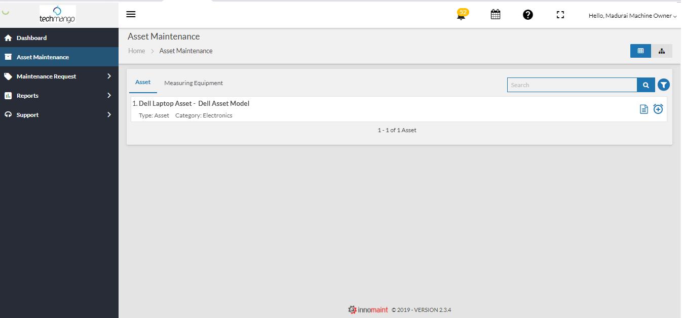 AMS - Machine owner login