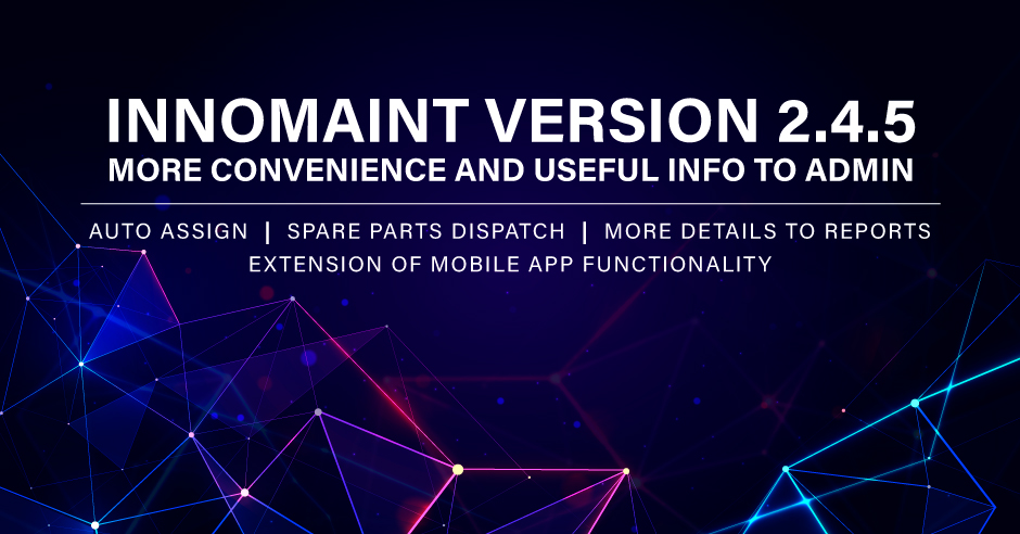 InnoMaint Version 2.4.5