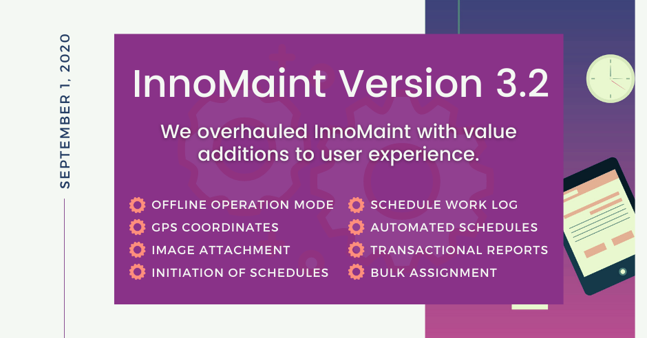 InnoMaint Version 3.2