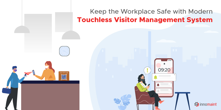 Keep the Workplace Safe with Modern Touchless Visitor Management System